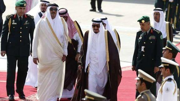 عربستان  امیر قطر را به حضور در ۲ اجلاس مکه دعوت کرد