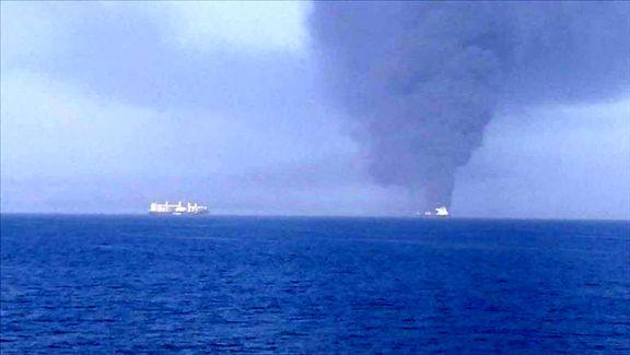 انفجار یک نفتکش در بندر جده عربستان سعودی