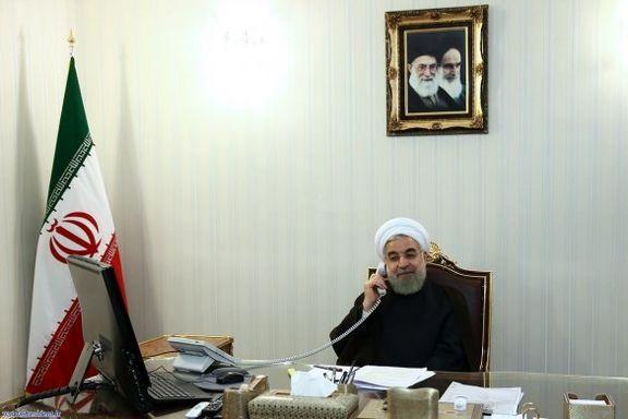 گفتگوی حسن روحانی با ماکرون درباره لبنان و قطعنامه جدید آمریکا
