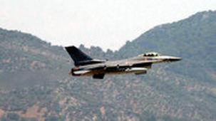 کشته شدن پنج عضو پ.ک.ک در حمله هوایی ترکیه