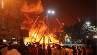 آتش سوزی در هند/ 5 نفر کشته شدند