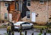 برخورد هواپیما با ساختمان یک نفر کشته داد