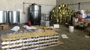 کشف کارگاه تولید عسل تقلبی در پایتخت + فیلم