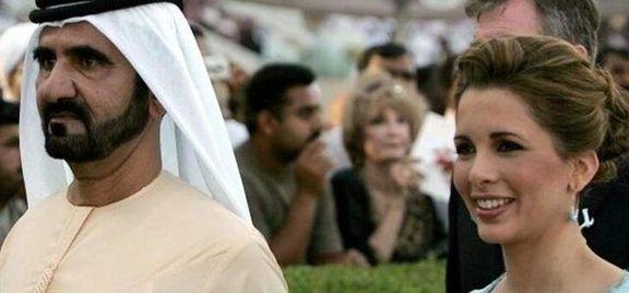 همسر حاکم دبی به کمک با هماهنگی بن سلمان موفق به فرار به لندن شد
