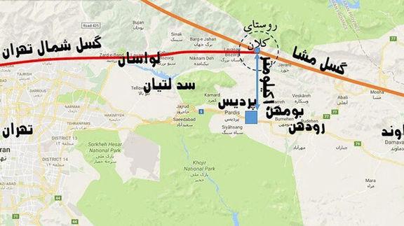 ساخت مدرسه و بیمارستان بر روی گسل های تهران ممنوع اعلام شد