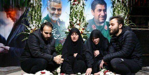 آخرین  مکالمه تلفنی دختر سردار حاج قاسم سلیمانی با پدرش سه ساعت پیش از شهادت