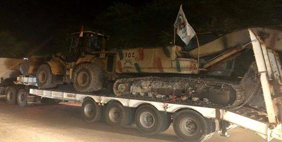 نیروهای الحشد الشعبی برای کمک به سیلزدگان  وارد ایران شدند