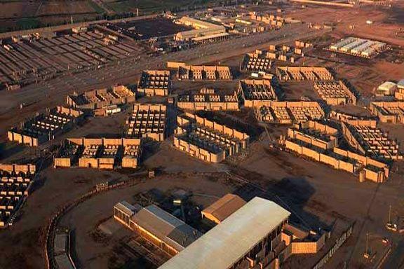 ۵ موشک به پایگاه هوایی بلد  عراق شلیک شد