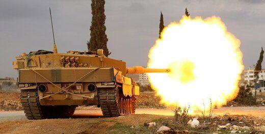 عملیات نظامی ترکیه در شمال سوریه آغاز شد