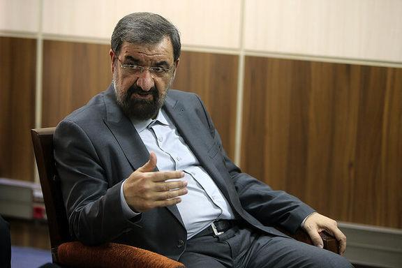 واکنش محسن رضایی به بی اطلاعی روحانی از زمان اجرای شدن طرح افزایش قیمت بنزین
