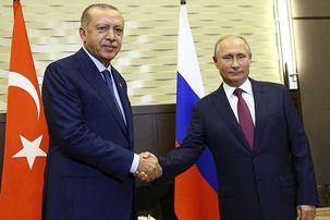 اردوغان با ولادیمیر پوتین دیدار می کند