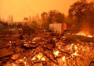 بارش باران در کالیفرنیا عملیات امداد و نجات را مختل کرد/نزدیک به هزار نفر  ناپدید شدند
