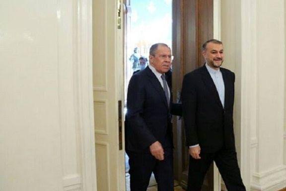 وزرای خارجه ایران و روسیه گفت و گوی تلفنی کردند