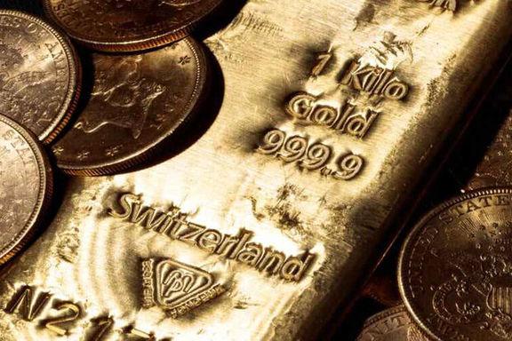 رشد قیمت جهانی طلا در معاملات امروز