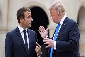 ترامپ: ایرانی ها به شدت دنبال مذاکره با ما هستند اما مکرون نمی گذارد!