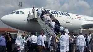 برنامه پرواز بازگشت حجاج به کشور