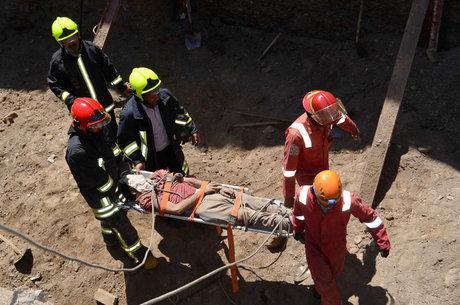 مرگ یک کارگر بر اثر سقوط از ارتفاع ۱۰ متری
