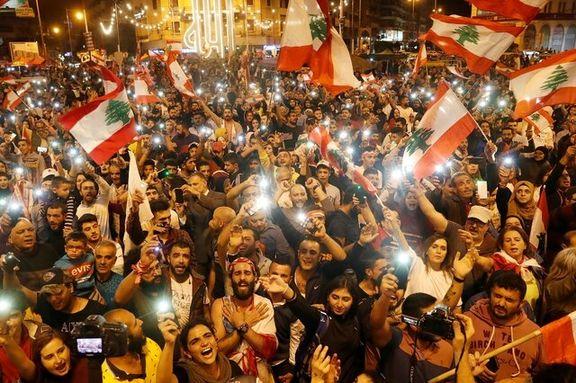 مردم لبنان دوباره به خیابانها ریختند