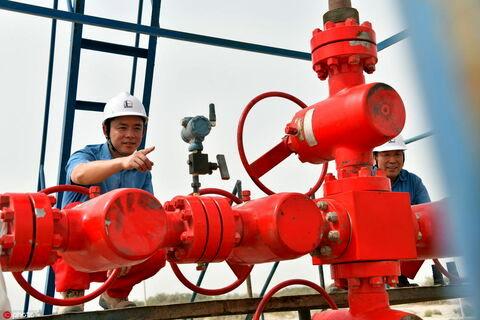 چین یک مخزن 100 میلیارد متر مکعبی گاز در شمال غربی کشورش کشف کرد