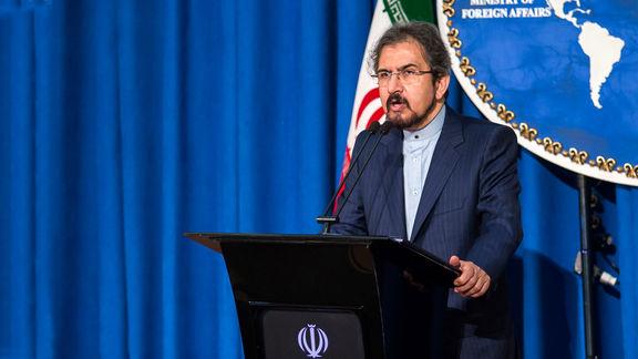 قاسمی به بیانیه کمیته چهارجانبه اتحادیه عرب  واکنش نشان داد