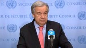 نامه دبیر کل سازمان ملل به 8 کشور برای شناسایی آثار تحریم در مبارزه با کرونا