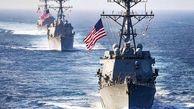 ناوگان پنجم نیروی دریایی آمریکا به محل انفجار دو نفتکش دریای عمان  اعزام شدند