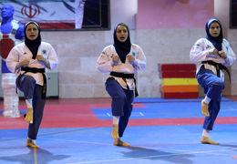 پخش سرود شاهنشاهی به جای سرود جمهوری اسلامی ایران در مراسم قهرمانی بانوان + ویدئو