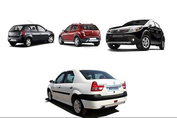 آخرین قیمت محصولات پارس خودرو