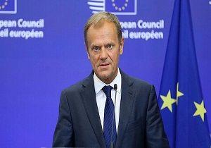 رئیس شورای اروپا تعویق برکسیت را تایید کرد