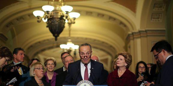 دموکراتهای سنا به دنبال شکایت از ترامپ