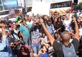 تظاهرات ضد قانون نژادپرستانه در تل آویو