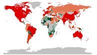 بدهکارترین اقتصادهای بزرگ جهان؛ ایرلند بیشترین و چین کمترین بدهی