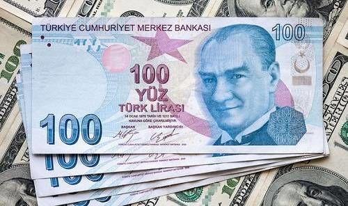 لیر ترکیه به کمترین نرخ در یک ماه اخیر رسید