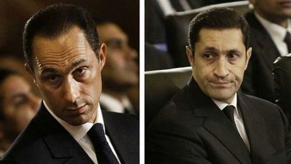 فرزندان حسنی مبارک به جرم اختلال در بازار بورس دستگیر شدند