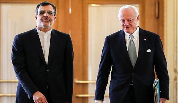 رایزنی در زمینه کمیته قانون اساسی سوریه در ژنو