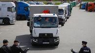 شناسایی یک کامیون قاچاق مهاجر در مرز لهستان