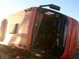 آخرین خبر از واژگونی اتوبوس دانش آموزان در تبریز + فیلم