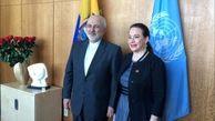 گفت و گوی ظریف با رئیس مجمع عمومی سازمان ملل متحد