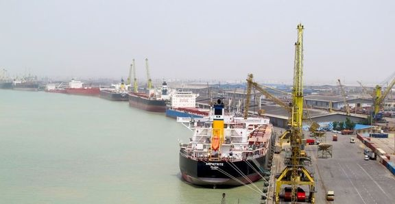 افتتاح بزرگ ترین بندر صادراتی فرآورده های نفتی ایران در ماهشهر+فیلم