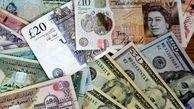 کاهش نرخ 11 ارز و افزایش پوند و یورو