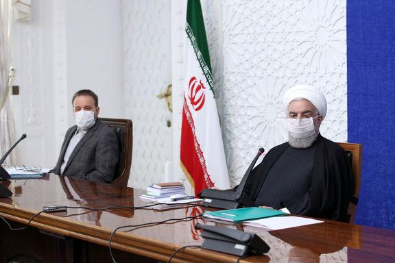 حسن روحانی: دولت تلاش میکند قیمت ارز را واقعی کند / قیمت فعلی ارز به نفع اقتصاد کشور نیست