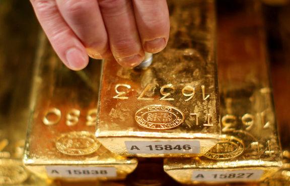 افزایش قیمت طلا در معاملات اولین روز هفته با تضعیف شاخص دلار