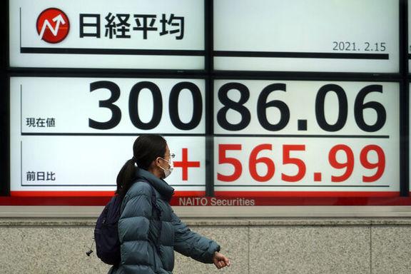 رشد سهام آسیا اقیانوسیه با صعود شاخصهای چین و ژاپن