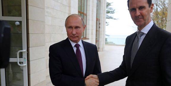پوتین برای دیدار با بشار اسد به دمشق سفر کرد
