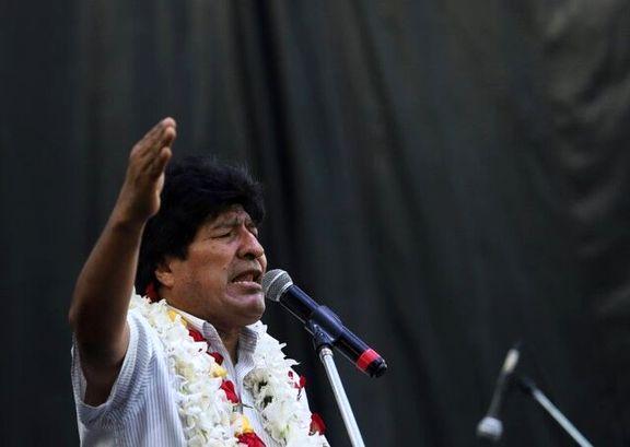 مورالس نامزد انتخاباتی برای سنای بولیوی شد