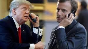 مذاکرات تلفنی ترامپ و ماکرون درباره مسائل ایران