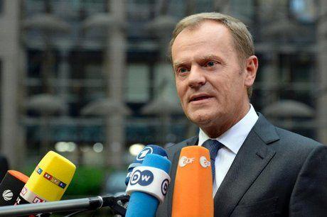 هشدار دونالد تاسک به لهستان در خروج از اتحادیه اروپا
