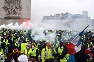 جلیقه زردهای فرانسه باز هم هفته آینده به اعتراضات خود ادامه می دهند
