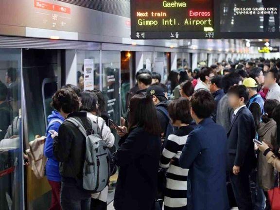 اعتصاب سراسری کارکنان راهآهن در کره جنوبی