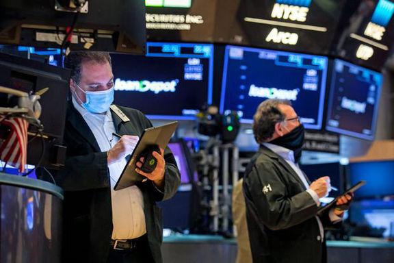 افت سهام آمریکا در پی رشد تورم این کشور